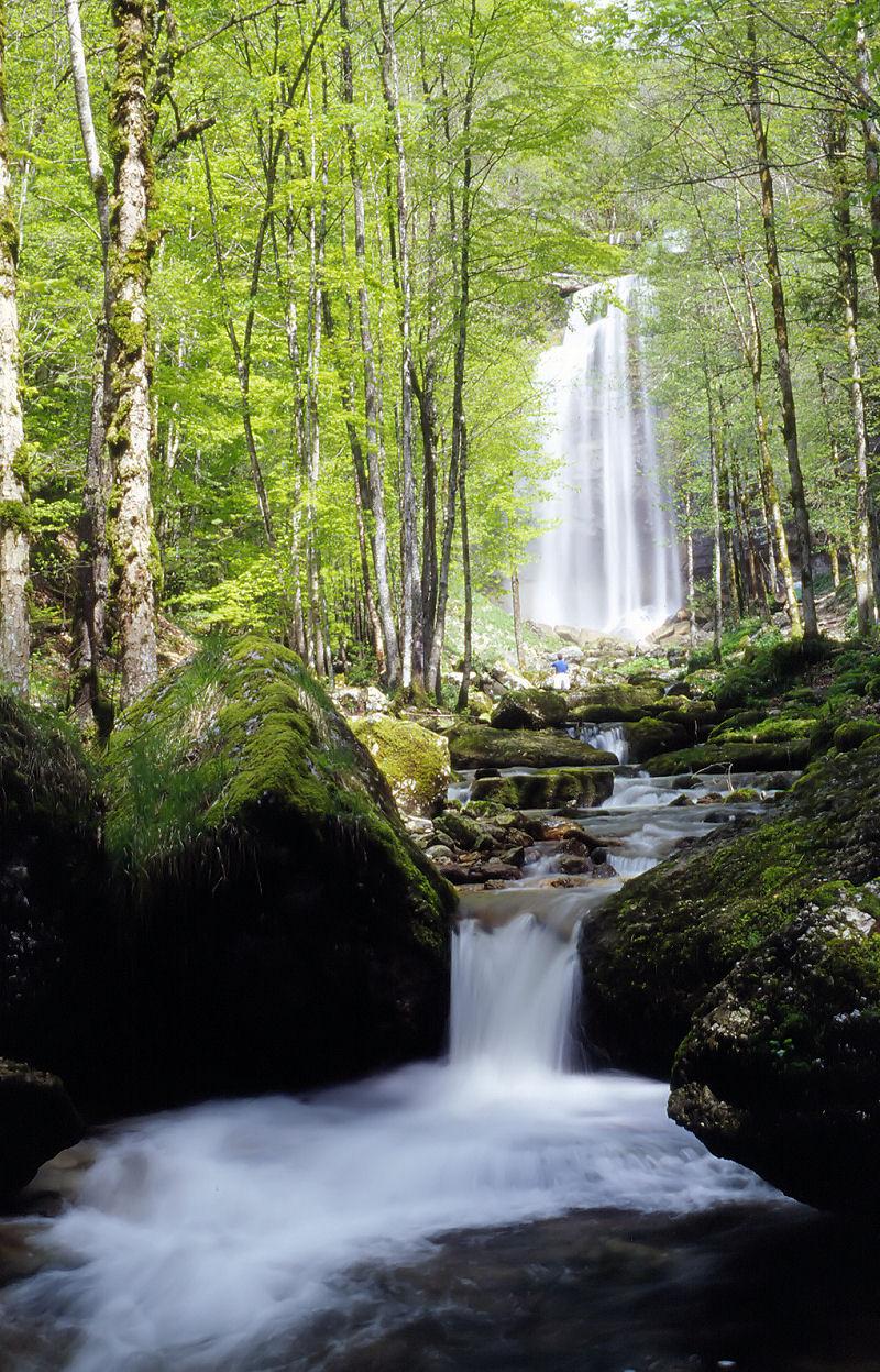 Dame Nature Cascade La Passion Poème De Lauteur Eglantine